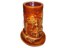 Aromalampa domček - kostolík