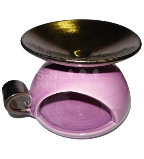 Aromalampa glazovaná (veľká, farebná)