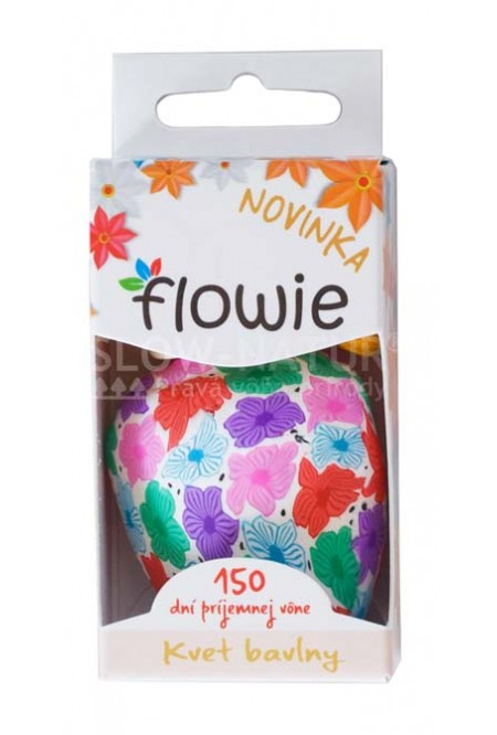 Flowie - Kvet bavlny - Vôňa do auta
