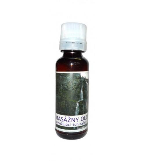 Masážny olej - osviežujúci (30 ml)