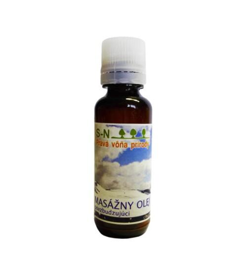 Masážny olej - povzbudzujúci (30 ml)