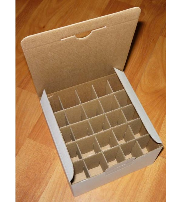 Prepravka z kartónu (na 25 olejov)
